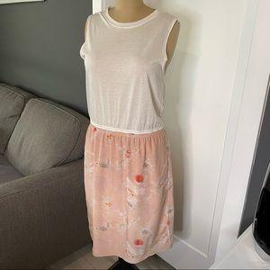 Babaton Silk Floral Dress